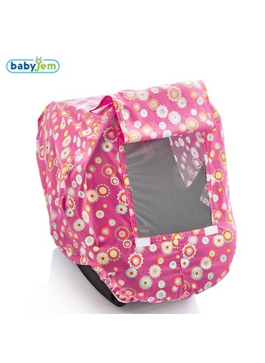 Babyjem Ana Kucağı Örtüsü  Çiçekli-Baby Jem
